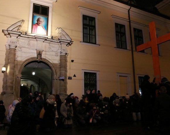 Akademicka Droga Krzyżowa ulicami Krakowa - Słowo abp. Marka Jędraszewskiego - 18 marca 2018