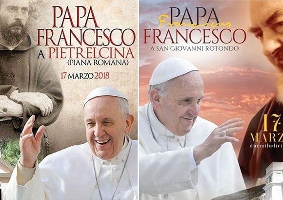 Franciszek z wizytą w Pietrelcinie i San Giovanni Rotondo