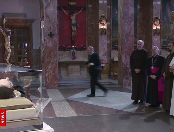 Papież Franciszek w Pietrelcinie i San Giovanni Rotondo - 17 marca 2018 - Wideoimpresja