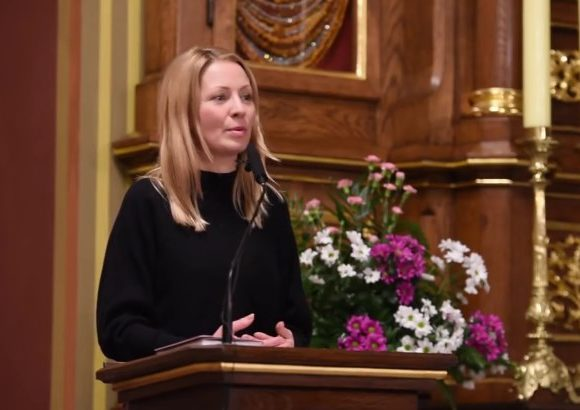 Być świadkiem Miłosierdzia w wielkim mieście - Katarzyna Olubińska w Łagiewnikach - 22 stycznia 2018