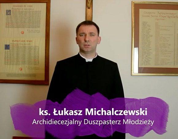 """Ks. Łukasz podsumowuje 5. tydzień rekolekcji """"Log in Love - Zaloguj się do wspólnoty!"""""""