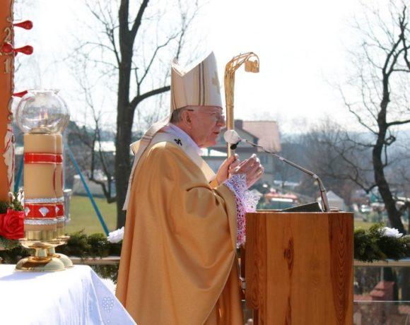 Święto Miłosierdzia w Łagiewnikach - Homilia abp. Marka Jędraszewskiego w Sanktuarium Bożego Miłosierdzia - 8 kwietnia 2018