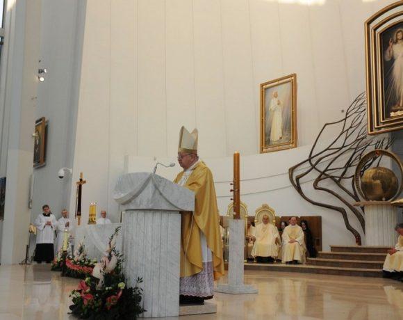 Święto Miłosierdzia w Łagiewnikach - Homilia kard. Stanisława Dziwisza w Sanktuarium Bożego Miłosierdzia - 8 kwietnia 2018