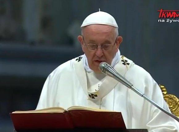 Niedziela Dobrego Pasterza w Watykanie - Homilia papieża Franciszka - 22 kwietnia 2018