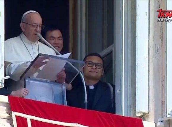 Modlitwa Regina Coeli z papieżem Franciszkiem - Niedziela Dobrego Pasterza, 22 kwietnia 2018