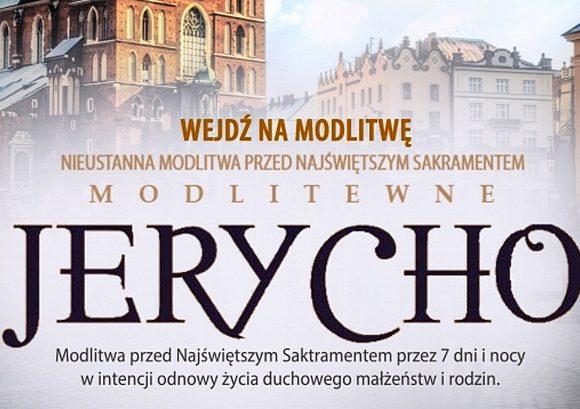 Modlitewne Jerycho na Rynku Głównym w Krakowie: 24-30 maja 2018