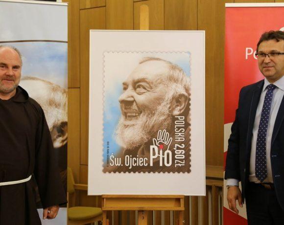 Pierwszy w Polsce znaczek pocztowy ze św. Ojcem Pio - 13 czerwca 2018