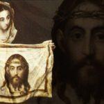 Św. Weronika ociera twarz Jezusowi