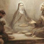 Św. Klara i św. Franciszek