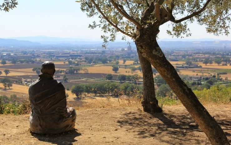 Modlitwa franciszkańska o pokój
