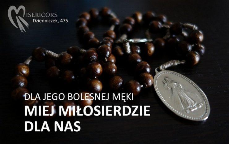 Dla Jego Bolesnej Męki - Miej Miłosierdzie dla nas i świata całego - Koronka