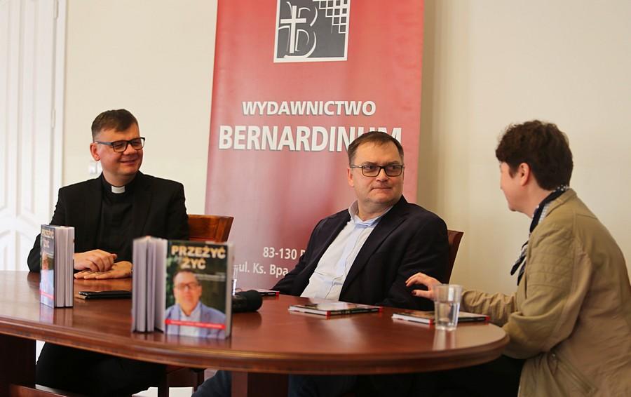 Ks. Marek Chrzanowski FDP: Pan Bóg po raz kolejny dał mi szansę - Prezentacja książki