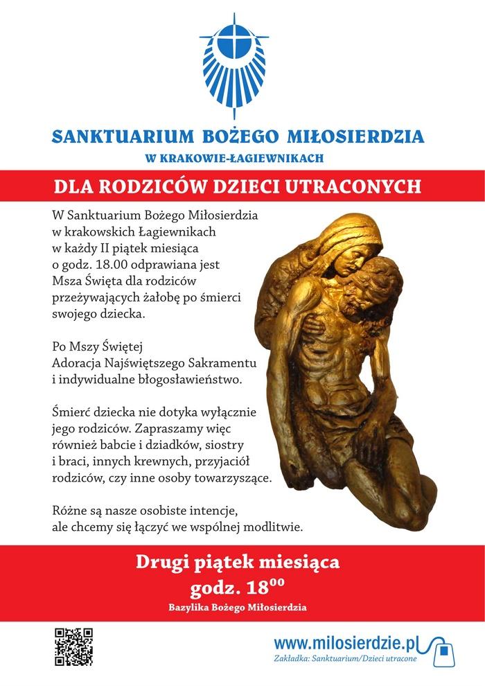 Msza św. dla rodziców przeżywających żałobę po śmierci dziecka