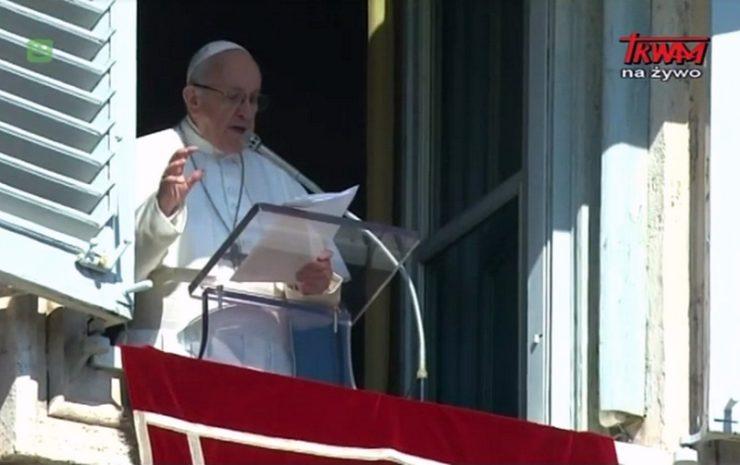 Anioł Pański z papieżem Franciszkiem - Niedziela, 17 lutego 2019