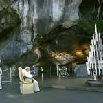 Św. Jan Paweł II w Lourdes