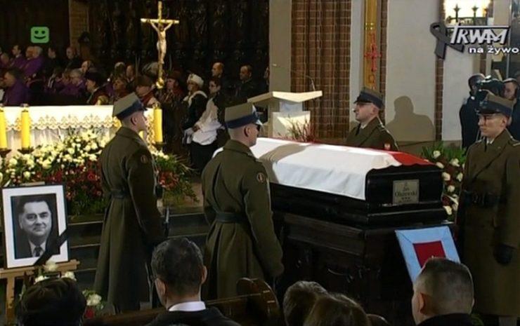 Homilia bp. Antoniego Dydycza podczas Mszy św. pogrzebowej Jana Olszewskiego - 16 lutego 2019