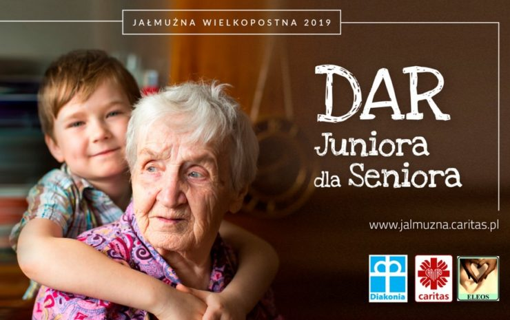 "Jałmużna Wielkopostna 2019 - ""Dar Juniora dla Seniora"""