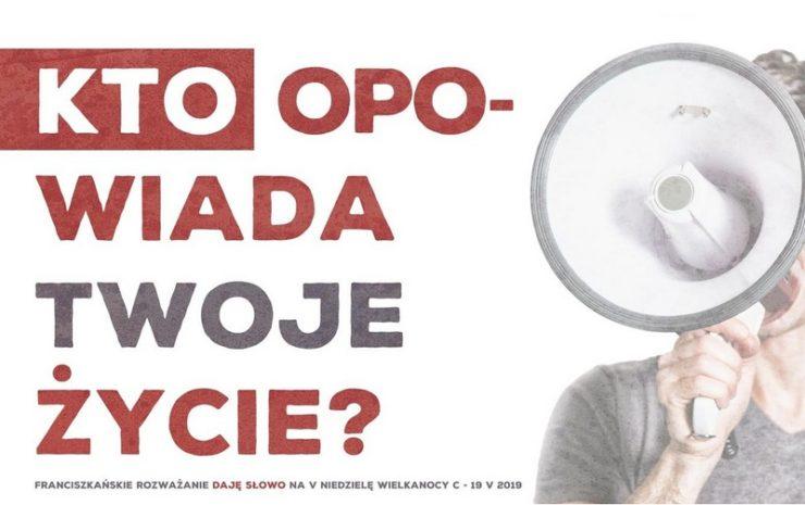 """Franciszkańskie rozważanie """"Daję Słowo"""" na 5. Niedzielę Wielkanocną - 19 maja 2019"""
