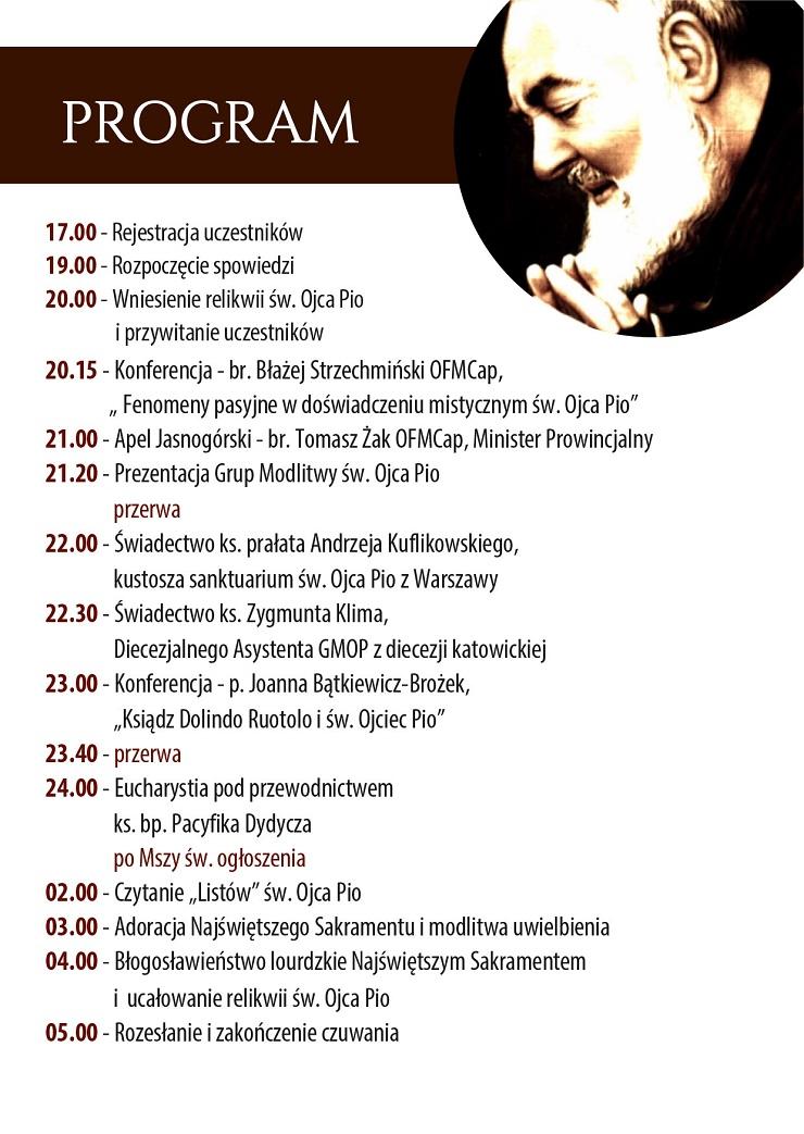 Program czuwania w Łagiewnikach