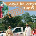 """20. Ogólnopolski Tydzień św. Krzysztofa, 21-28 lipca 2019 i """"Akcja św. Krzysztof - 1 grosz za 1 kilometr..."""""""