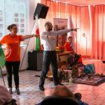 Salezjańska animacja misyjna podczas rekolekcji Drabiny Jakubowej u orionistów w Brańszczyku - 8 lipca 2019