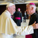 Papież Franciszek i bp Marian Florczyk