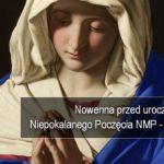 Nowenna przed Uroczystością Niepokalanego Poczęcia Najświętszej Maryi Panny – Dzień 3 – 1 grudnia