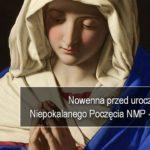 Nowenna przed Uroczystością Niepokalanego Poczęcia Najświętszej Maryi Panny - Dzień 8 - 6 grudnia