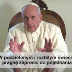 Papieska intencja modlitewna na styczeń 2020 roku