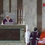 Środa Popielcowa w Rzymie - Homilia papieża Franciszka w Bazylice św. Sabiny - 26 lutego 2020