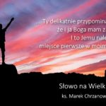 Słowo na Wielki Post - Czwartek 5. tygodnia Wielkiego Postu - Ks. Marek Chrzanowski FDP