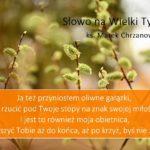 Słowo na Wielki Tydzień- Niedziela Palmowa - Ks. Marek Chrzanowski FDP