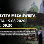 Ossów 15 sierpnia 2020