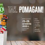 """18. Zbiórka Żywności Caritas """"Tak. Pomagam!"""" - 25-26 września 2020"""