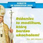 XI Pielgrzymka Żywego Różańca Archidiecezji Krakowskiej do Sanktuarium Bożego Miłosierdzia w Łagiewnikach - 26 września 2020