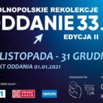 """Inauguracja II edycji rekolekcji """"Oddanie 33"""" - Msza św. w archikatedrze poznańskiej - 29 listopada 2020"""